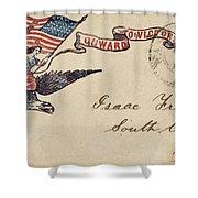 Civil War Letter 18 Shower Curtain