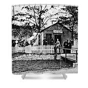Civil War: Military Hospital Shower Curtain