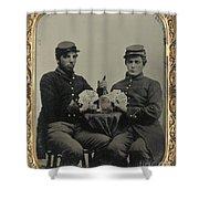 Civil War Soldiers C1863 Shower Curtain