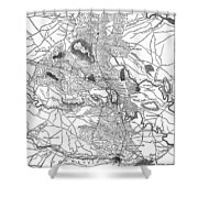Civil War: Virginia, 1864 Shower Curtain