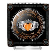 Claddagh Ring Shower Curtain