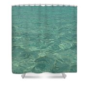 Clear Water Of Guam Shower Curtain
