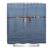Clallam Bay Shower Curtain