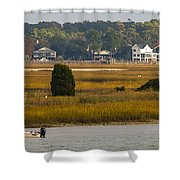 Clam Country Shower Curtain
