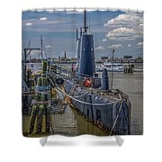 Clamagore Shower Curtain