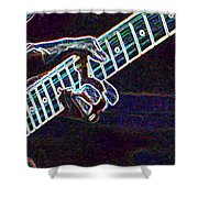 Clapton Electrified Shower Curtain
