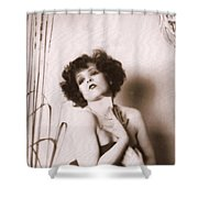 Clara Bow Shower Curtain