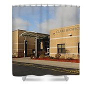 Clare High School Shower Curtain