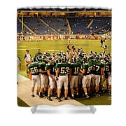 Clare Pioneers At Ford Field Shower Curtain