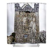 Claregalway Castle - Ireland Shower Curtain