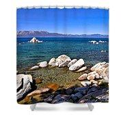 Clarity - Lake Tahoe Shower Curtain