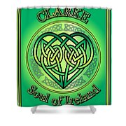 Clarke Soul Of Ireland Shower Curtain