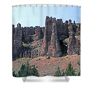 M-a5706-clarno Palisades Shower Curtain