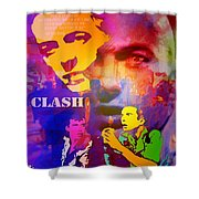 Clash Know Your Rights Shower Curtain