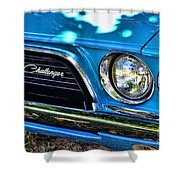 Classic 1974 Dodge Challenger Shower Curtain