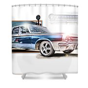 Classic '64 Dodge Oakland County Mi Shower Curtain