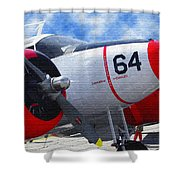 Classic Aircraft Shower Curtain