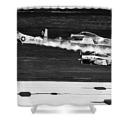 Classic Airpower Shower Curtain