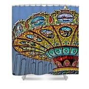 Classic Amusement Swing Shower Curtain