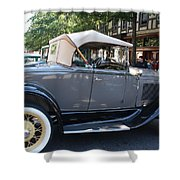 Classic Antique Car - Ford 1920s Shower Curtain