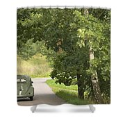 Classic Beetle 1 Shower Curtain