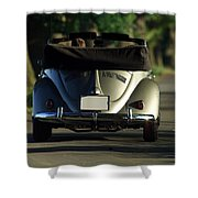 Classic Beetle 5 Shower Curtain