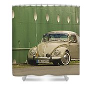 Classic Beetle 7 Shower Curtain