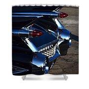 Classic Black Cadillac Shower Curtain