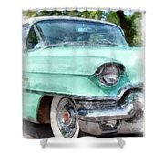 Classic Caddy Shower Curtain