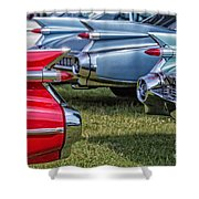 Classic Caddy Fin Party Shower Curtain