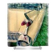 Classic Caddy Fins Shower Curtain