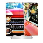 Classic Caddy Inside And Out Shower Curtain