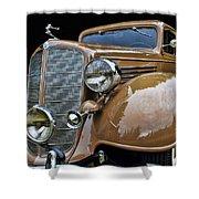 Classic Car - 1935 Buick Victoria Shower Curtain