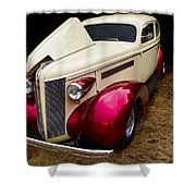 Classic Car - 1937 Buick Century Shower Curtain