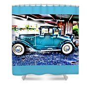 Classic Car 2 Shower Curtain