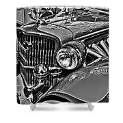 Classic Car Detail Shower Curtain
