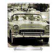 Classic Car Shower Curtain