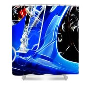 Classic Cars Beauty By Design 3 Shower Curtain