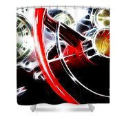 Classic Cars Beauty By Design 4 Shower Curtain