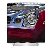 Classic Chevrolet Camaro Shower Curtain