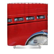 Classic Chevy Design Shower Curtain