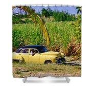 Classic Cuba Shower Curtain