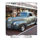 Classic Custom Coup Shower Curtain