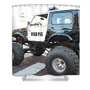 Classic Custom Jeep Shower Curtain