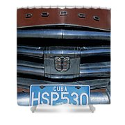 Classic Dodge Shower Curtain