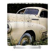 Classic Fleetline Car Shower Curtain