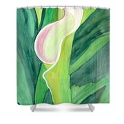 Classic Flower Shower Curtain