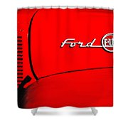 Classic Ford F100 Shower Curtain