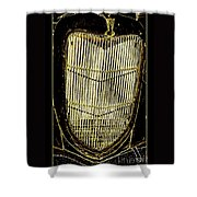 Classic Gold Grill Shower Curtain