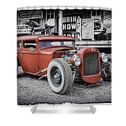 Classic Hot Rod Shower Curtain